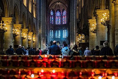 Kathedrale Notre-Dame de Paris - p1243m1515696 von Archer