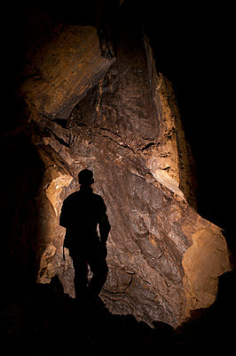 on an adventure exploring a cave - p44212971f by Corey Hochachka