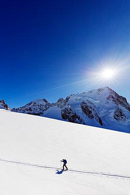 Europe, France, Haute Savoie, Rhone Alps, Chamonix, glacier du Tour (MR) - p652m1487644 by Christian Kober