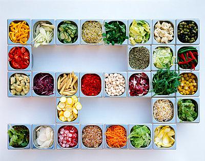 Salatbuffet - p1053m816453f von Joern Rynio