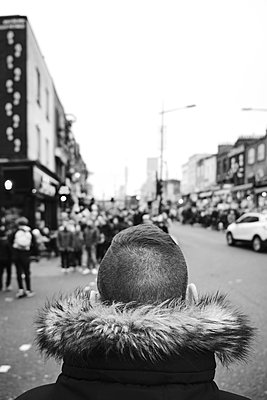 Man in Camden  - p1423m2056938 by JUAN MOYANO