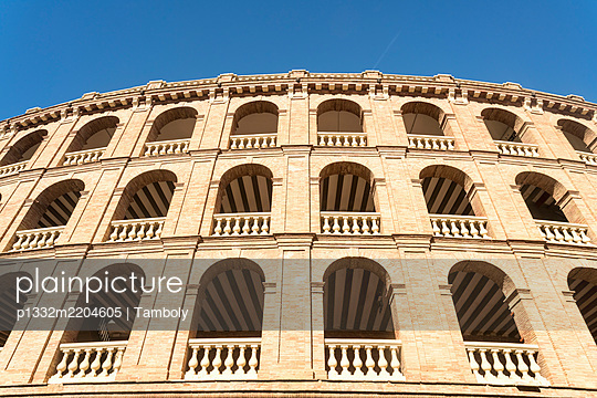 Spain, Valencia, Bull fighting arena  - p1332m2204605 by Tamboly