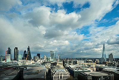 City of London skyline, London, UK - p429m1135239f by Mischa Keijser