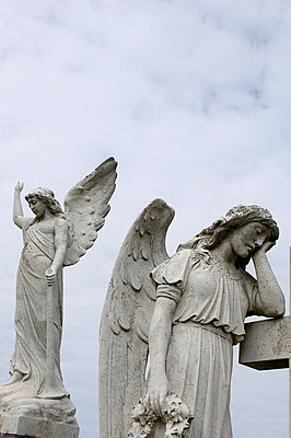 Two Angels - p1072m830403 by Jonathan Moss
