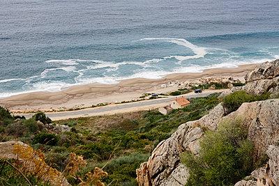 Steilküste auf Korsika - p1159m943680 von Anna Rozkosny