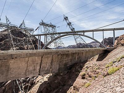 Hoover Damm, Nevada Arizona - p1232m1041142 von Moritz Schmid