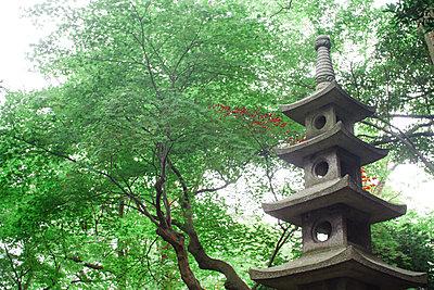 Stone pagoda - p798m2289454 by Florian Loebermann