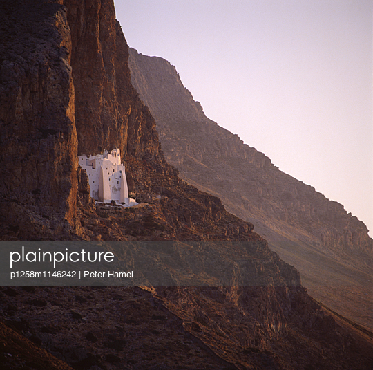 Kloster Chozoviotissa auf Amorgos - p1258m1146242 von Peter Hamel