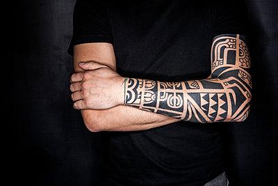 Tattoo - p1017m931679 von Roberto Manzotti