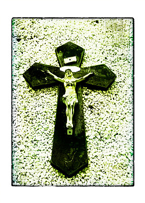 Christus am Kreuz - p9790409 von Weber-Decker