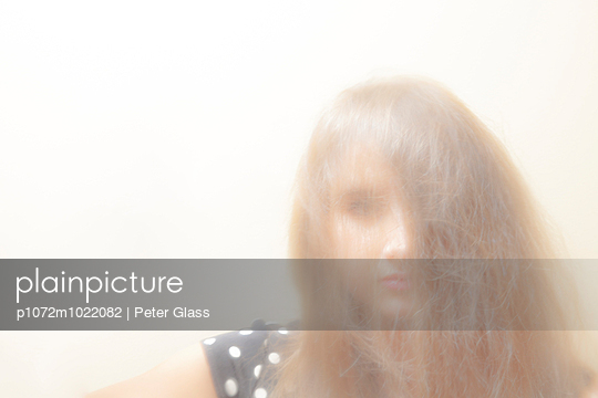 Teenage girl. - p1072m1022082 by Peter Glass