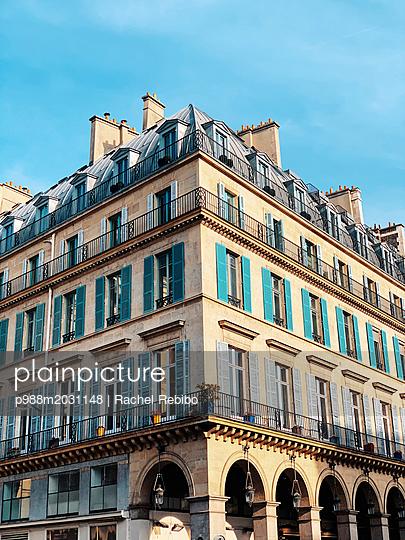 Gebäude in Paris - p988m2031148 von Rachel Rebibo