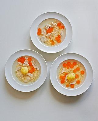 Noodle Soup - p390m881056 by Frank Herfort
