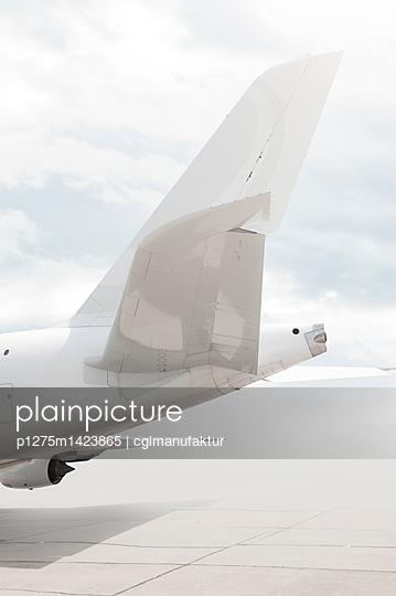 Airplane tail - p1275m1423865 by cgimanufaktur