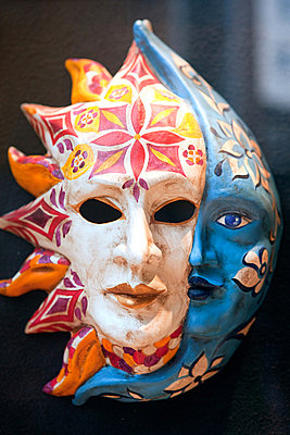 Venice carnival mask - p9245489f by Image Source