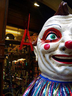 Clown - p1299m1128200 von Boris Schmalenberger