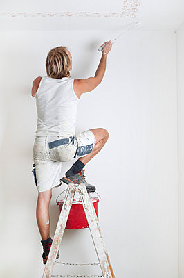 Painting the walls - p5150379 by E.Coenders