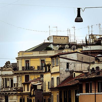 Houses in Rome - p081m881204 by Alexander Keller