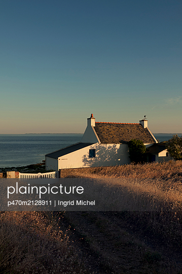 House in Britany by the coast of Quiberon - p470m2128911 by Ingrid Michel