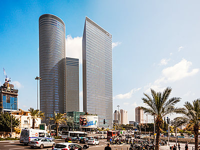 Tel Aviv - p416m1497979 von Jörg Dickmann Photography