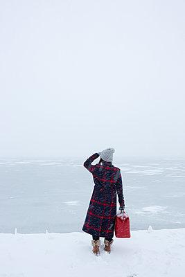 Winterreise - p454m2071818 von Lubitz + Dorner
