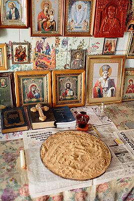 Privater Gebetsraum eines Orthodoxen Christen - p1319m1196338 von Christian A. Werner