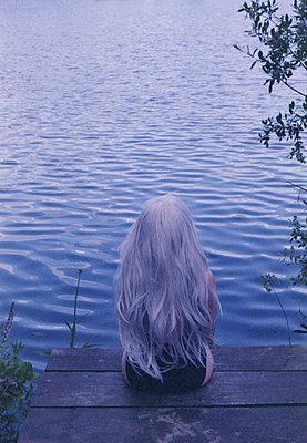 Woman near the lake - p1229m2288283 by noa-mar