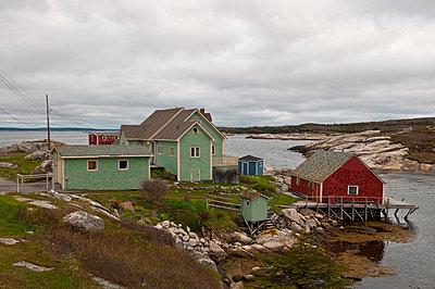 Peggy's Cove - p470m1110897 von Ingrid Michel