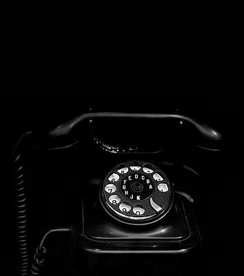 Rotary phone - p450m1183271 by Hanka Steidle