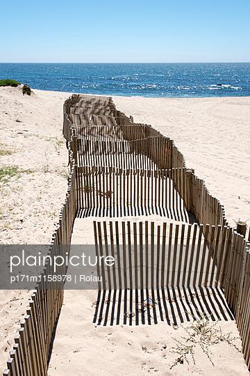 Atlantikstrand in Portugal - p171m1158978 von Rolau