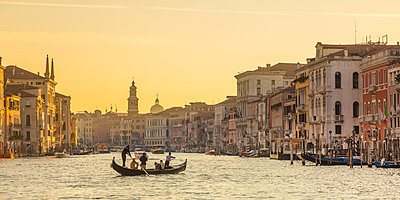 Grand Canal, Venice, Italy - p651m2007420 by Jon Arnold