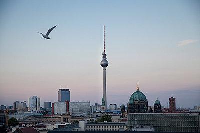 Berlin Skyline - p363m788033 von Thomas Victor
