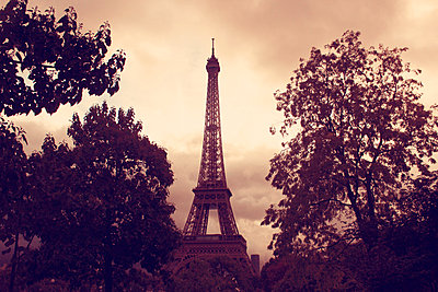 Eiffel tower in Paris - p879m1526140 by nico