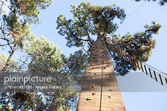 Kletterpfad - p781m1497598 von Angela Franke