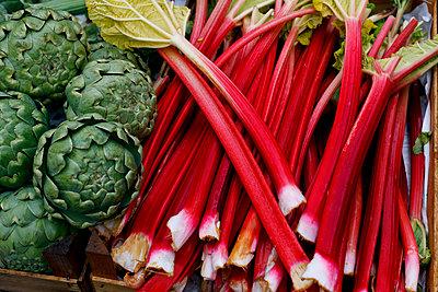 Gemüseauslage - p110m1087320 von B.O.A.