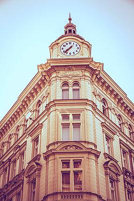 Art Nouveau house in Prague - p401m1589668 by Frank Baquet