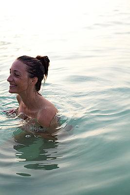 Swimming - p801m764304 by Robert Pola