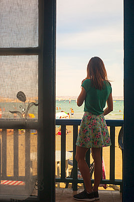 Strand von Marseille - p567m1212500 von Alexis Bastin