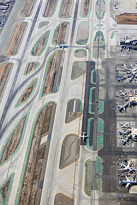 Airport runways - p1048m1058631 by Mark Wagner