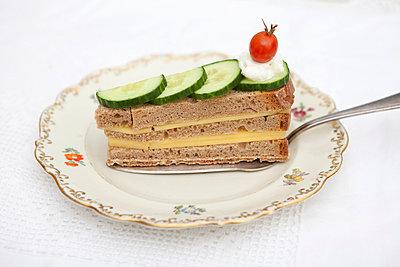 Sandwich Torte - p4540578 von Lubitz + Dorner