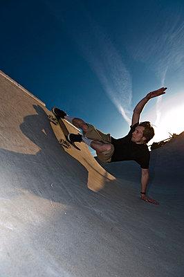 Skateboarding - p2200806 by Kai Jabs