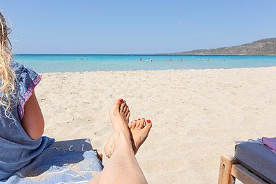 Summer, sun, beach - p454m2163853 by Lubitz + Dorner