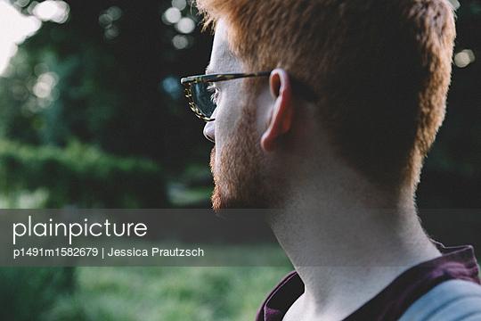 Man blickt in die Ferne - p1491m1582679 von Jessica Prautzsch