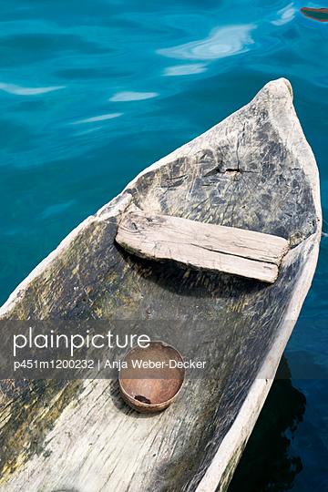 Einbaumboot - p451m1200232 von Anja Weber-Decker