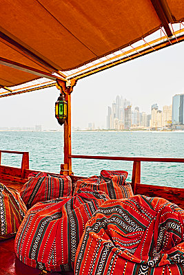 Skyline of Dubai - p851m2077286 by Lohfink