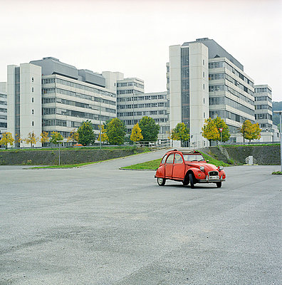 Rote Ente; Auto - p6060180 von Iris Friedrich