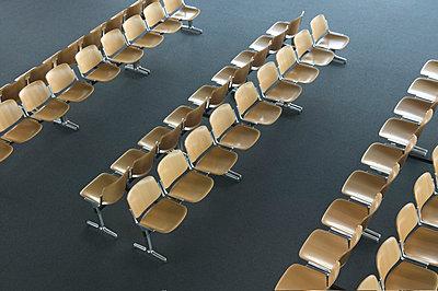 Wooden Chairs - p1082m1111295 by Daniel Allan