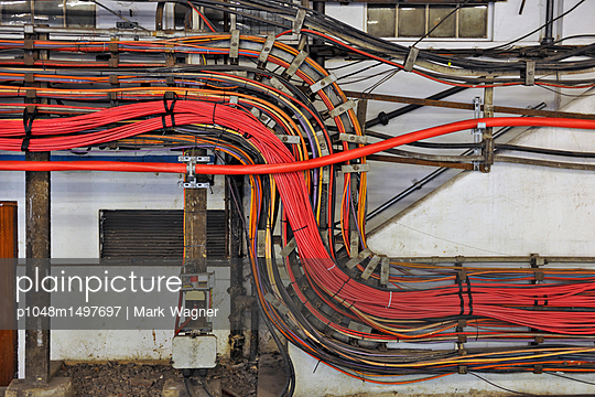 High power electrical cable network - p1048m1497697 by Mark Wagner