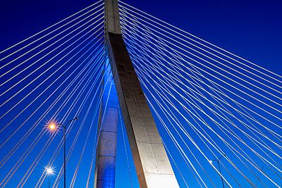 Zakim Bunker Hill Memoriam Bridge Boston  - p401m2233785 by Frank Baquet