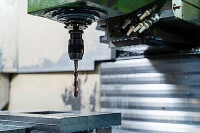 Drill machine in manufacturing factory - p300m2225150 by Daniel Ingold